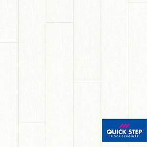 Ламинат Quick Step Impressive Ultra IMU1859 Белоснежный, класс 33